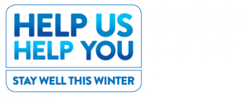 Help us help you  - stay well this winter logo
